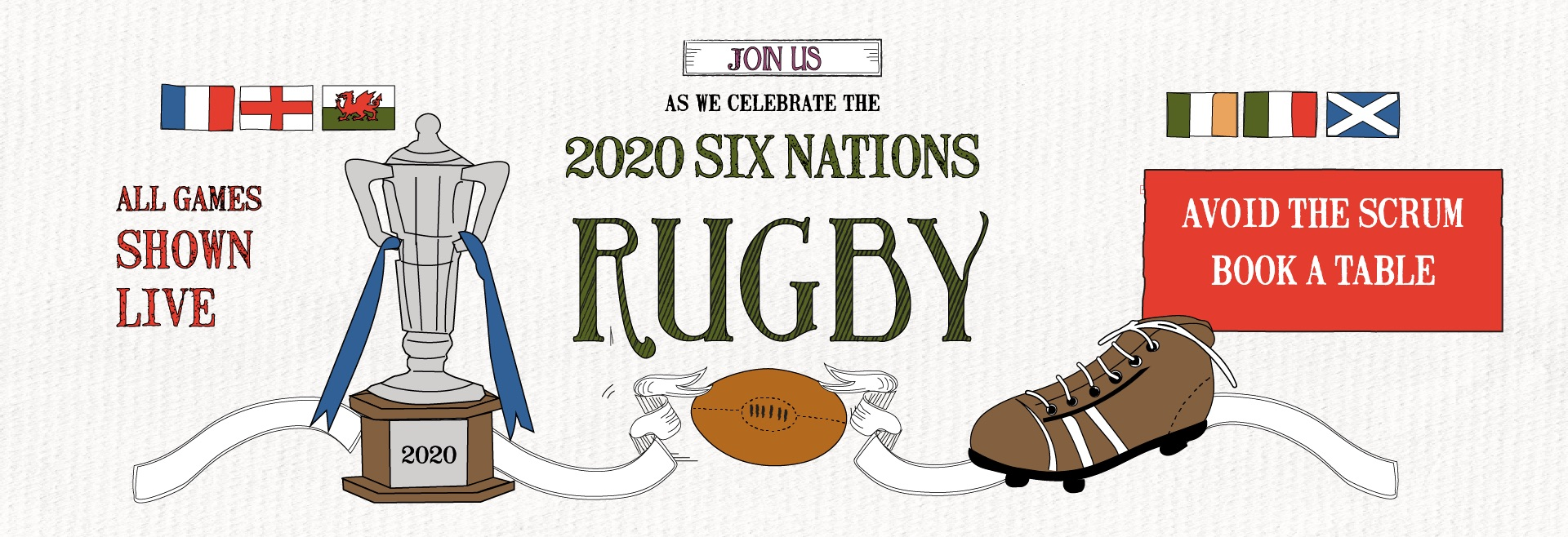 Six Nations Live at Notting Hill